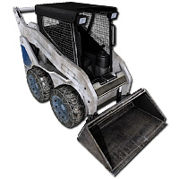 Lizard Skid loader with bucket
