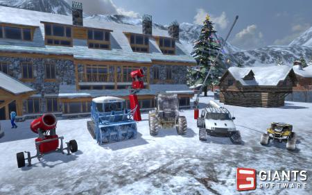 Giants ski region simulator.
